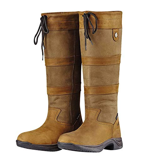 Dublin NEW River Boots Ladies Waterproof Dog Walking Horse Riding Country Boot Dark Brown