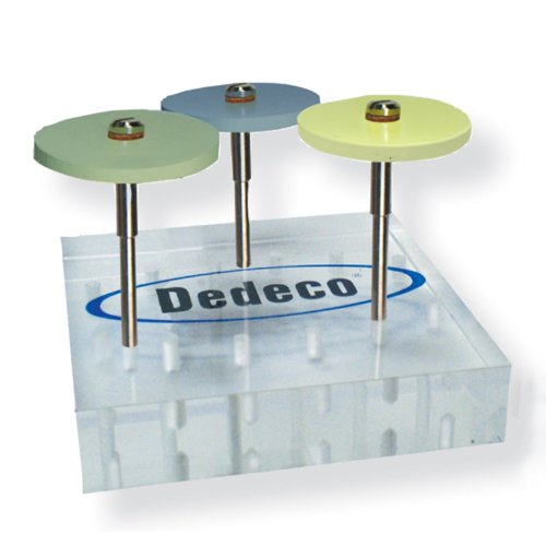 Pack of 3 Dedeco 1180 Hi-Glaze Diamond Finish and Polish