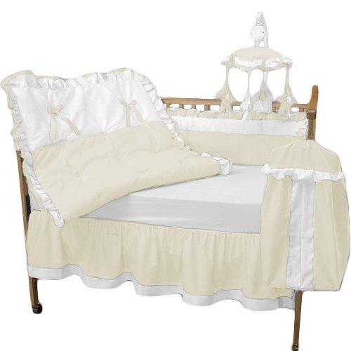 Baby Doll Bedding Regal Crib Bedding Set,Ecru [並行輸入品]   B01BBOV7EQ