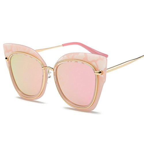 Persönlichkeit Katze Auge Sonnenbrille Metall Katze Ohren Sonnenbrille Trend Bunte Sonnenbrille,A5