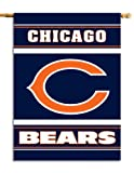 NFL Chicago Bears 2-Sided 28-by-40-Inch House Banner
