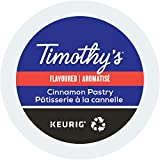 Timothy's World Coffee, Cinnamon Pastry, K-Cup