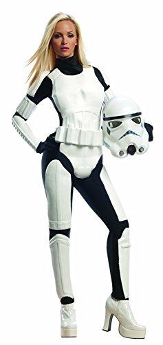 Rubie's Costume Star Wars Female Stormtrooper, White/Black, X-Small Costume
