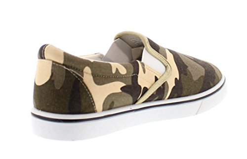 Gold Toe Doug Mens Slip On Shoes Casual,Memory Foam Sneakers for Men,Canvas Shoe,Men's Deck Shoes,Skate Shoes Camouflage 9.5W US by Gold Toe (Image #4)