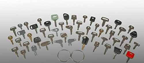 Keyman 52 Keys Heavy Equipment Key Set / Construction Ignition Keys Set 52 different keys)