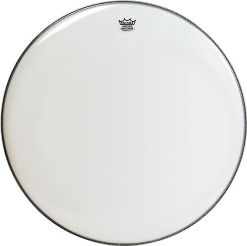 - Remo Emperor Smooth White Bass Drumhead, 16