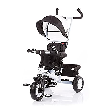 Triciclo con toldo Chipolino (beis, negro, Twister) negro ...