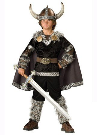 In Ch (Viking Warrior Boys Costumes)