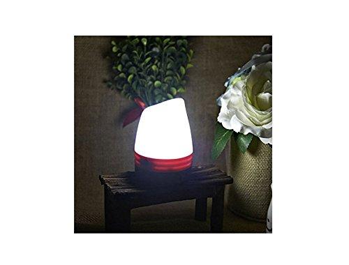 Tfxwerws ext/érieur portable Tente de camping Mini LED magn/étique durgence lumi/ère de nuit Rouge