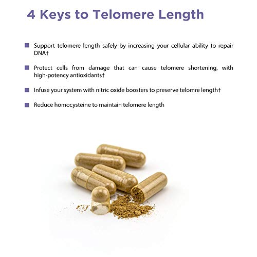41vNFfk MqL - Healthycell Telomere Length Supplement with AC-11 - Supports Lengthening of Telomeres Safely Through DNA Repair - Anti Aging Product for Healthy Aging - Cell Health - Lifespan - Stem Cell - Non-GMO