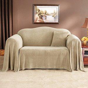 Amazon Com Mainstays Plush Furniture Throw Loveseat