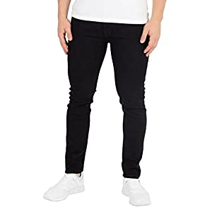 Jack & Jones Men's Liam Original 001 Skinny Jeans, Black
