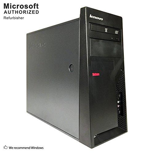 2019 Lenovo ThinkCentre M58 Tower Desktop PC,Intel Core 2 Duo 3.0G,4G DDR3,500G,DVD,VGA,DP,W10,64-Multi-Language Support English/Spanish/French(C2D)(Renewed)