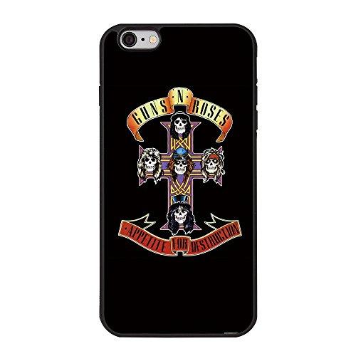 Guns N' Roses iPhone 6 Plus Case, Appetite For Destruction TPU Case for iPhone 6 Plus/6s Plus 5.5 inch