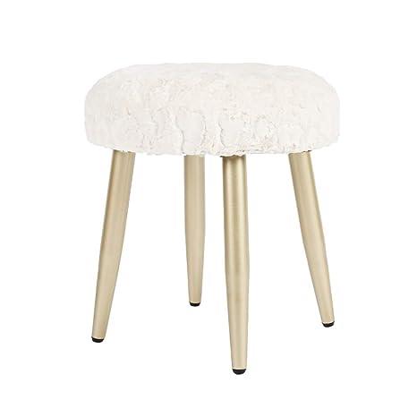 Magnificent Amazon Com Liyin Footstool Padded Footstool Ottoman Machost Co Dining Chair Design Ideas Machostcouk
