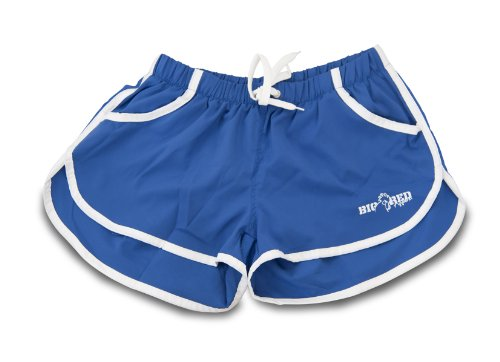 Big Red Apparel - 2eros/Zyzz Style Micro Stretch Shorts BLUE