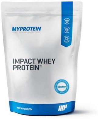 MyProtein Impact Whey Proteína de Suero, Sabor Helado Napolitano - 2500 gr