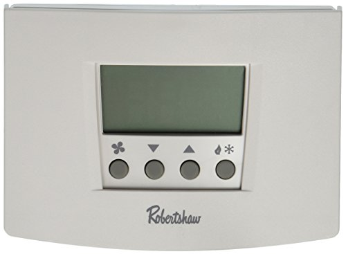 (Robertshaw RS5110 1 Heat/1 Cool Digital 5-2 Day Programmable Thermostat Heat Pump, Single Stage)