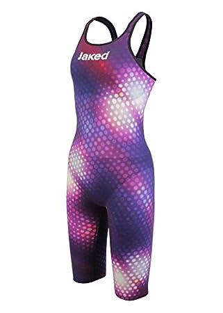 Jaked J Katana Limited Edition Open Back Swimming Costume Purple