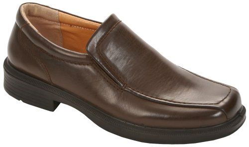 Deer Stags Greenpoint Men's Slip On 13 2E US Dark Brown