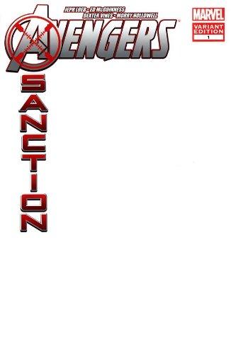 Download Avengers X-Sanction #1 Blank Variant (B007M6UIM0) B007M6UIM0