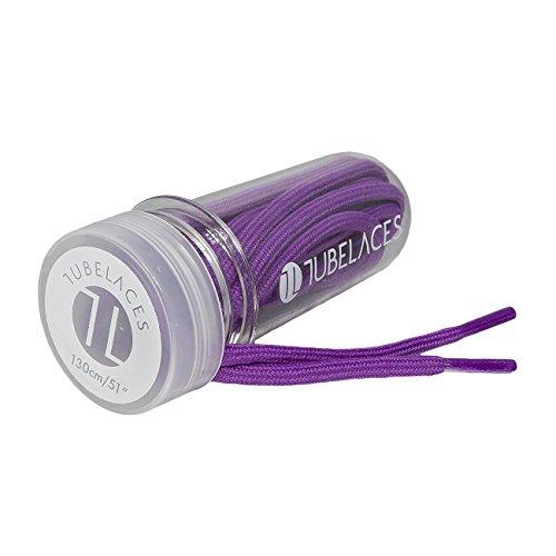 TUBELACES Rope Solid purple 130cm