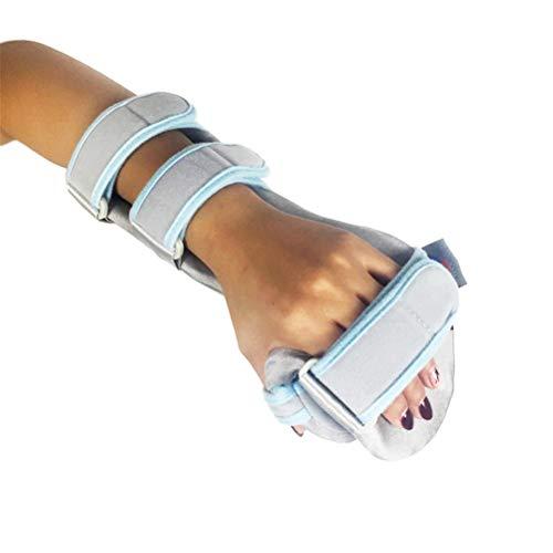 Fractures Wrist (Healifty Hand Splint Soft Resting Hand Splint Night Wrist Splint Support Finger Wrist Fracture Fixation Scaffold for Pain Tendinitis Sprain Fracture(Right Hand))