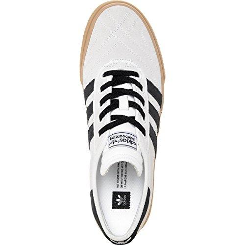Adidas Mænds Adi Lethed Premiere Adv Skateboard Sko, Krystal Hvid-sort, 11 M Os