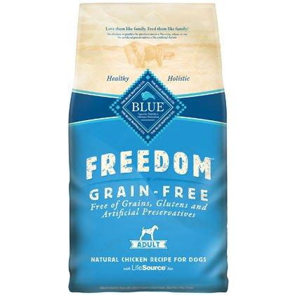 Blue Buffalo Freedom Grain Free Chicken Recipe Adult Dry Dog Food, 11-Pound, My Pet Supplies