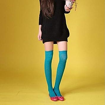 MJY Calcetines largos de algodón de primavera y verano Calcetines ...
