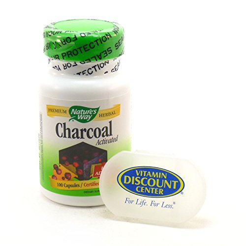Bundle Activated Charcoal Natures Capsules