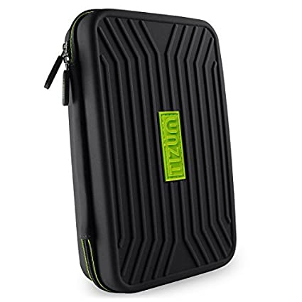 d10c2aecc3e Amazon.in  Buy Tizum TMGOB Portable EVA Universal Electronic Travel Gadgets  and Accessories Organizer (Black) Online at Low Prices in India