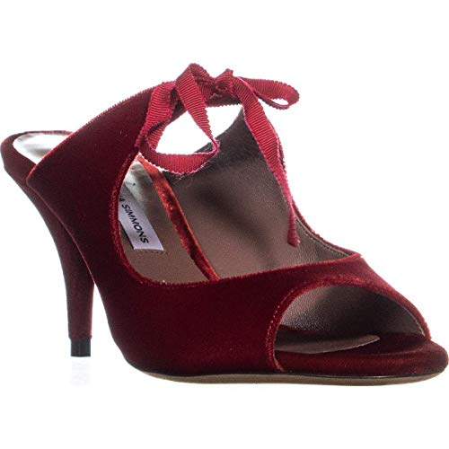 Tabitha Simmons Helene Women's Heels, Red, Size 7.0, used for sale  Delivered anywhere in USA