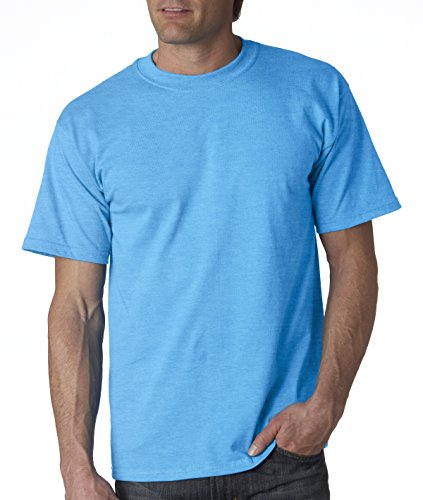 Gildan mens Ultra Cotton 6 oz. T-Shirt(G200)-SAPPHIRE-3XL (Classy Outfits For Men)