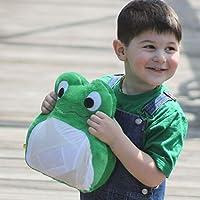Green Frog Plush Toy Stuffed Animal Gift for Boy