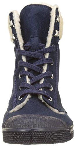 Ranger Femme marine Fourre Bensimon Baskets Ten Hautes Bleu T5gwxt6