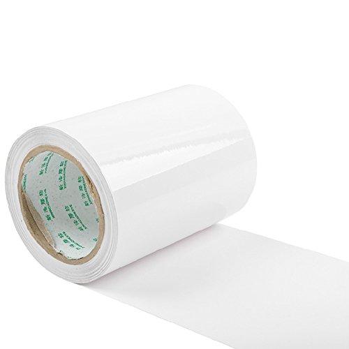 E Support™ KFZ Auto Lack Schutz Folie Meterware 200mm breit x 4000mm transparent Türkante Vinyl Blatt