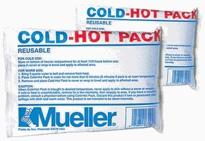 Mueller Reusable Cold / Hot Pack, Regular 6'' x 9'' (12/CS) by Mueller Braces by Mueller Braces