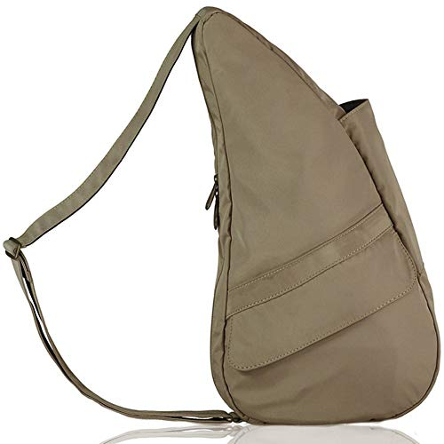 (AmeriBag X-Small Microfiber Healthy Back Bag Tote, Taupe, One Size)
