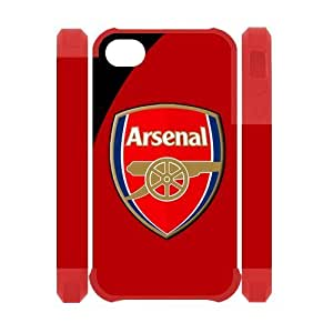 Arsenal FC Soccer Football Club Logo for Iphone 4 4s Back Case Cover Protector at NewOne