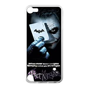 Morimo Custom Protective Phone Case for IPod Touch 5,Clown Pattern Batman Joker Poker 100% TPU Cover by ruishername
