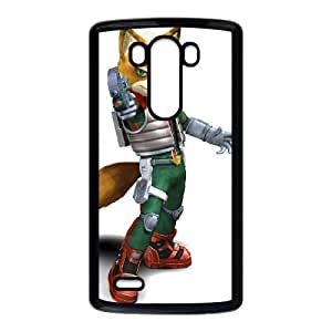LG G3 Cell Phone Case Black Super Smash Bros Fox McCloud 011 GY9025240