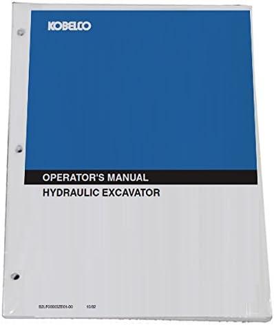 Part Number # LQ91Z00026P1 KOBELCO SK260-9,SK295-9 Tier 4 Excavator Operators Owners Operation /& Maintenance Manual