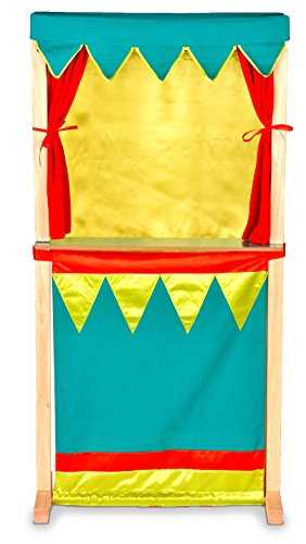 Puppet Theatre - Standing Or Table Top - Switch From Traditional Theatre Show To Market Shop. by Toyland