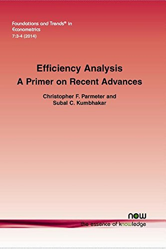Efficiency Analysis: A Primer on Recent Advances (Foundations and Trends in Econometrics)