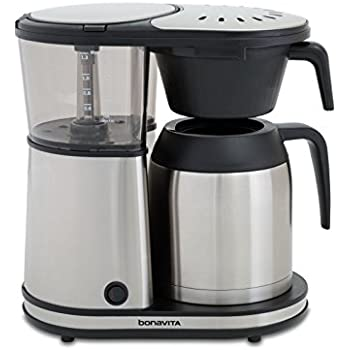 Bonavita BV1901TS 8-Cup Carafe Coffee Brewer, Stainless Steel