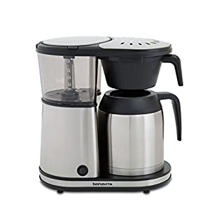 Bonavita Connoisseur 8-Cup One-Touch Coffee Maker Featuring Hanging Filter Basket and Thermal Carafe, BV1901TS (B076PFMRGX) | Amazon price tracker / tracking, Amazon price history charts, Amazon price watches, Amazon price drop alerts