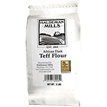 Haldeman Mills Teff Flour, African Dark, 2 Lb. Package