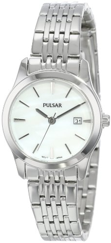Seiko Women's PH7231 Pulsar White Dial Watch