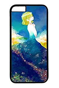 Anime Cute Girl 13 Hard Cover Case For Iphone 4/4S Cover PC Black Cases by icecream design